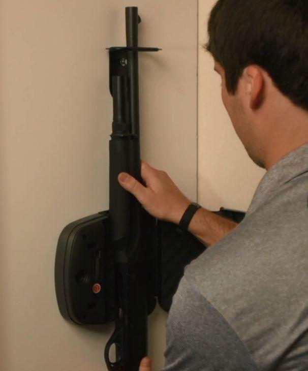 Hornady 98180 RAPID RFID Safe Shotgun Wall Lock
