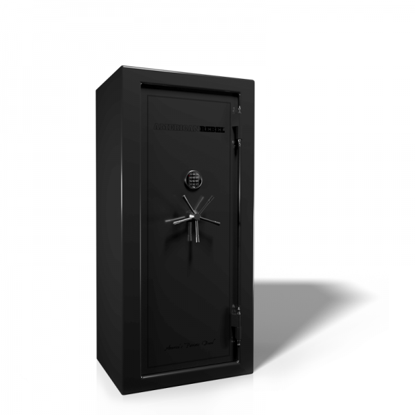 American Rebel AR-20 Black Smoke Gun Safe with Digital Lock