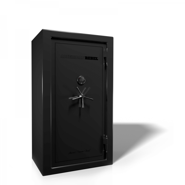 American Rebel AR-30 Black Smoke Gun Safe with Digital Lock