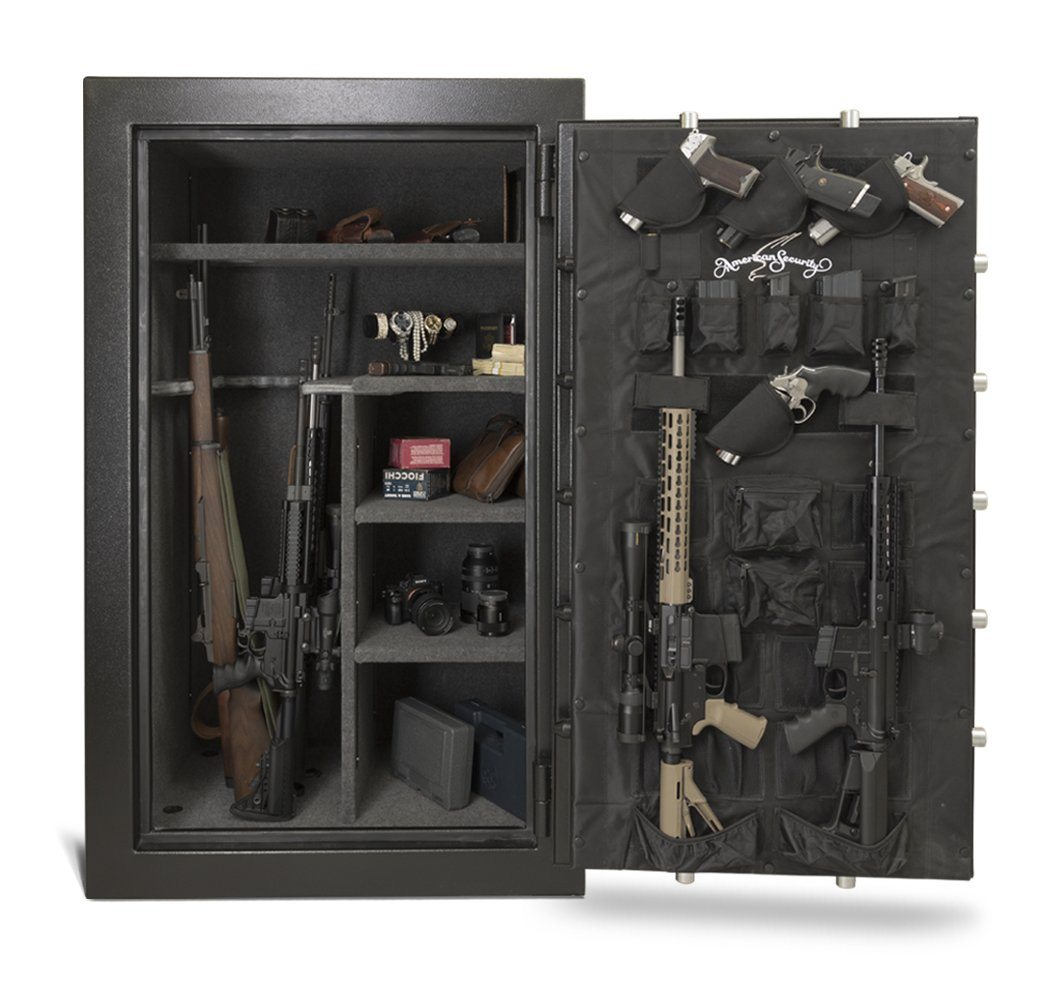 AMSEC FV6036E5 Rifle & Gun Safe - Door Wide Open Full