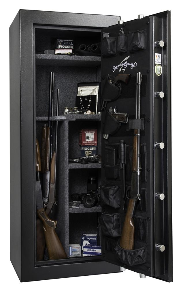 AMSEC TF5924E5 Rifle & Gun Safe - Door Open