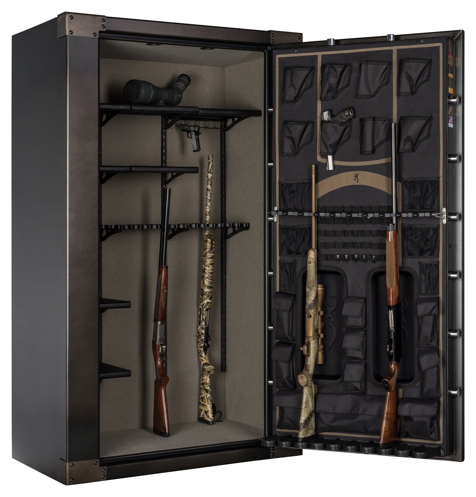 Gun Safes & Rifle Safe Products - Browning 1878-49T 1878 Series Tall & Wide Gun Safe - 2021 Model