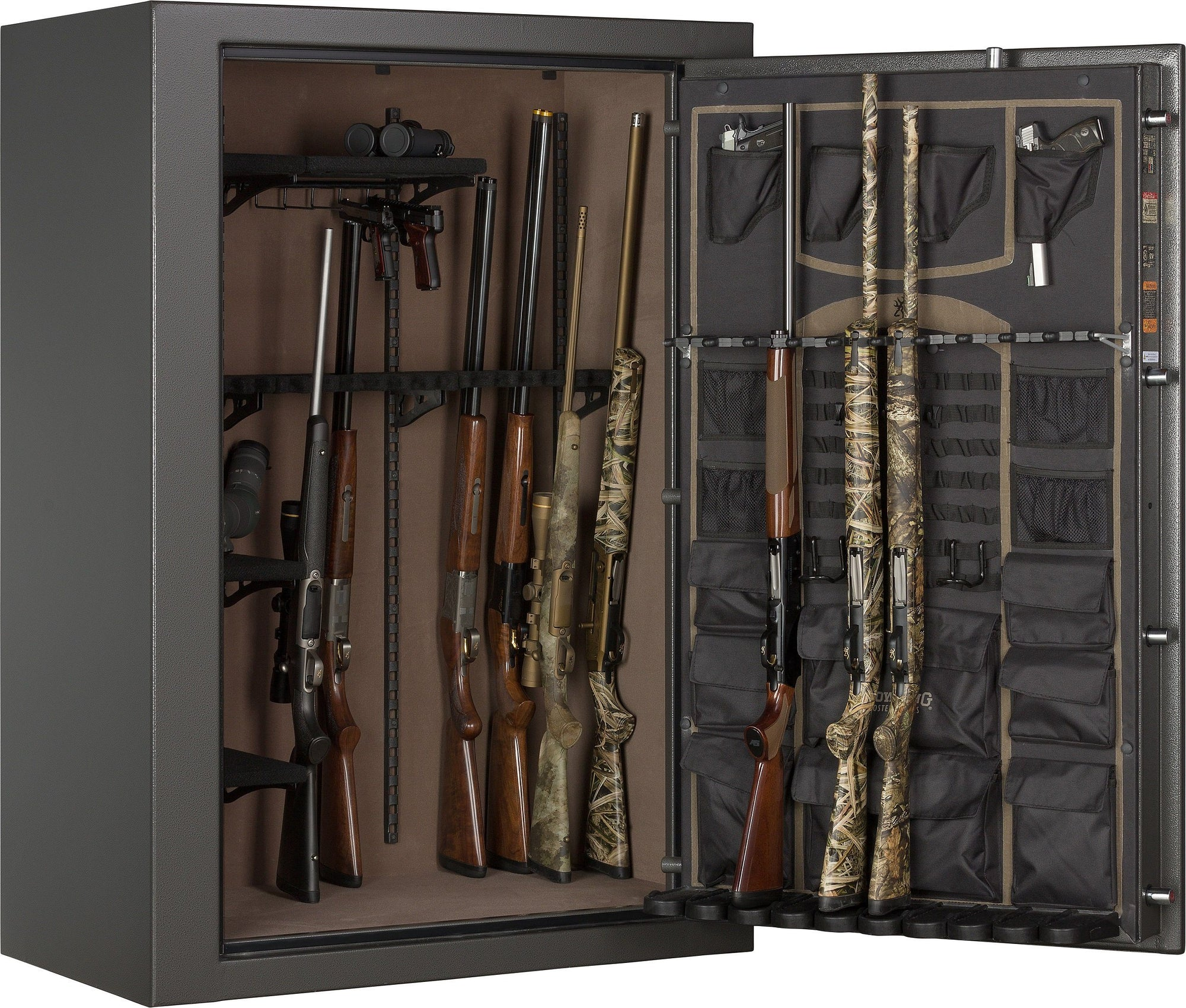 Gun Safes & Rifle Safe Products - Browning HG49 HAWG Gun & Rifle Safe - Putty Gray - 2021 Model