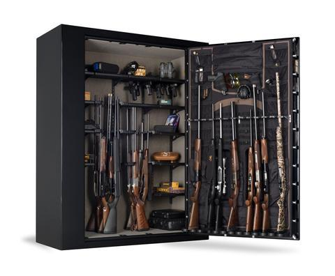 Gun Safes & Rifle Safe Products - Browning M65T Tall Extra Wide Medallion Series Gun Safe - Black Gloss