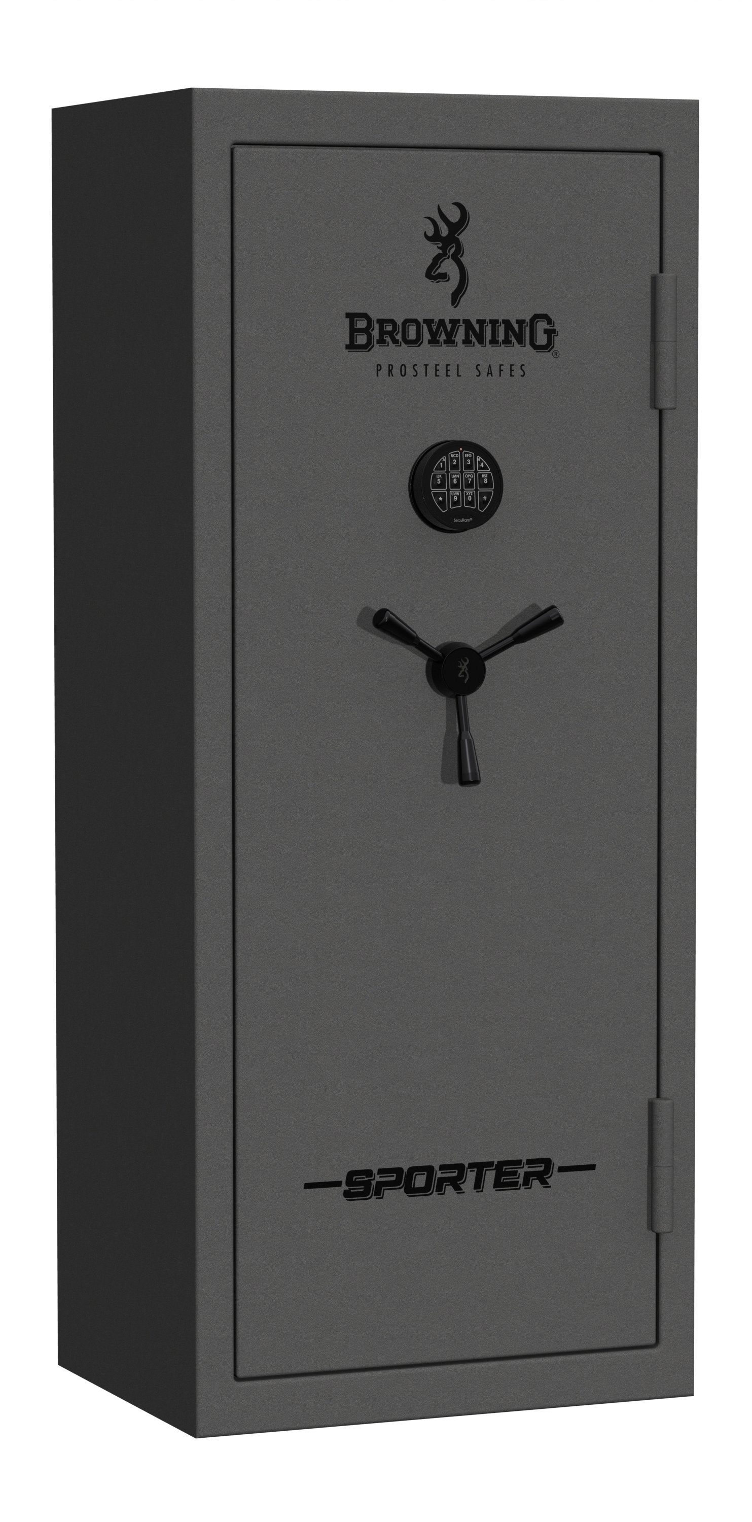 Gun Safes & Rifle Safe Products - Browning SP20 Core Collection Sporter Gun Safe Hammer Gloss Gray - 2021 Model