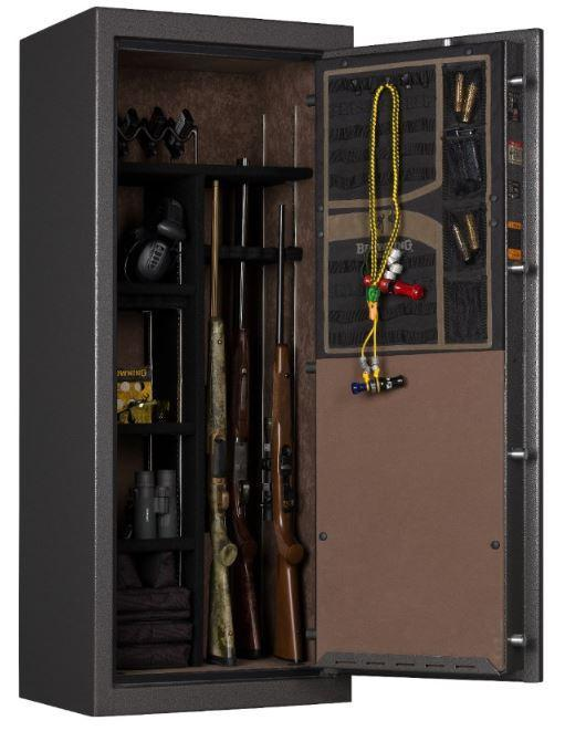 Gun Safes & Rifle Safe Products - Browning SP20 Putty Gray Core Collection Sporter Gun Safe - 2021 Model