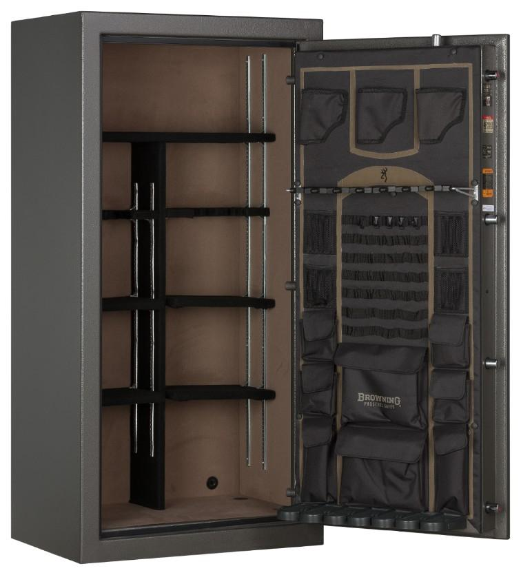 Gun Safes & Rifle Safe Products - Browning SP23 Putty Gray Core Collection Sporter Gun Safe - 2021 Model