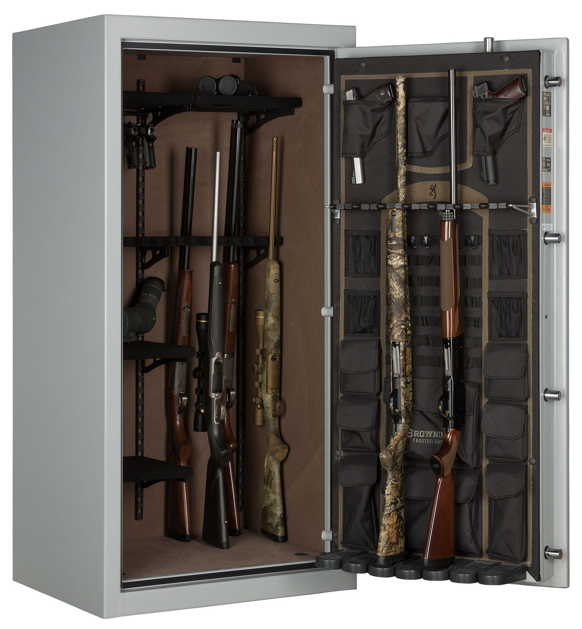 Gun Safes & Rifle Safe Products - Browning SP33 Putty Gray Core Collection Sporter Gun Safe - 2021 Model