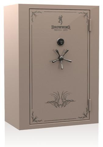 Gun Safes & Rifle Safe Products - Browning SR49 Silver Series Gun Safe - Black Gloss