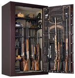 Gun Safes & Rifle Safe Products - Browning SR49T Silver Series Gun Safe - Black Gloss
