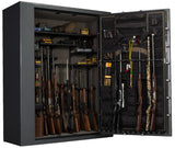 Gun Safes & Rifle Safe Products - Browning SR65T Silver Series Gun Safe - Black Gloss