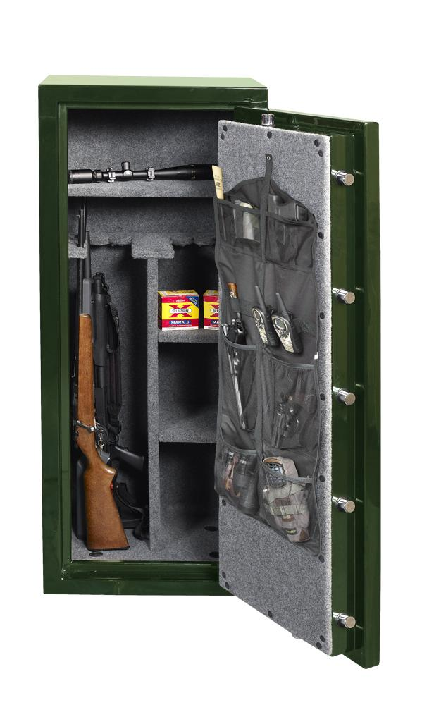 Gun Safes & Rifle Safe Products - Gardall GF-6030-GR-C 55 Minute Gun Safe (Green/Gold) (While Supplies Last)