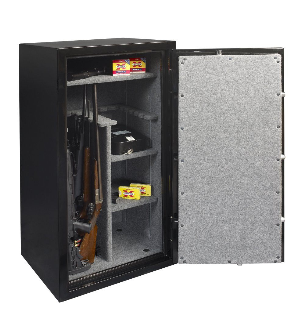 Gun Safes & Rifle Safe Products - Gardall HGF-6030-GR-C 55 Minute Gun Safe (High Gloss Green/Gold) (While Supplies Last)