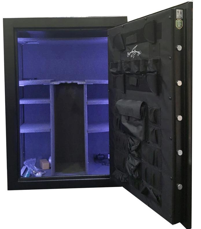 Gun Safes & Rifle Safe Products - Limited Edition AMSEC FV6042E5P-LTN-F-GY-A 45 Minute Fire Gun Safe