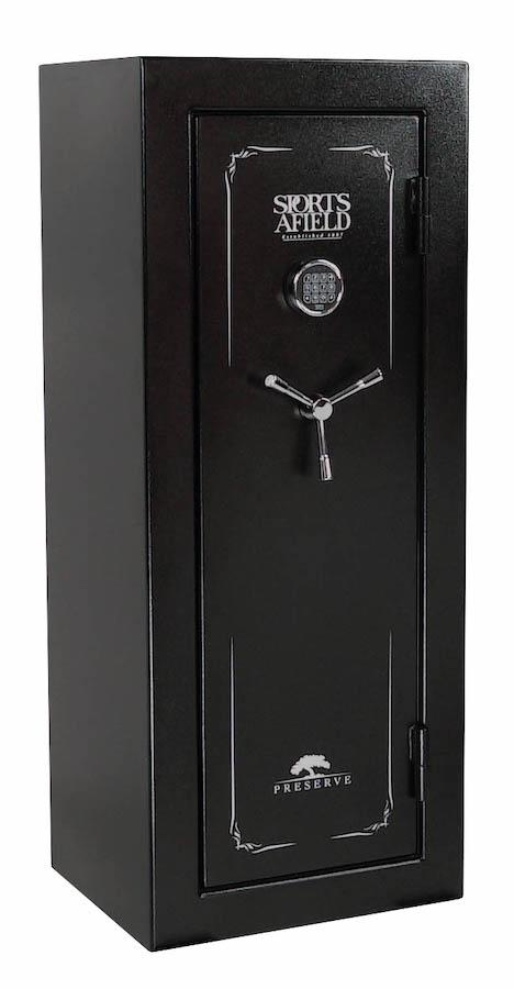 Gun Safes & Rifle Safe Products - Sports Afield SA5924P Preserve Series Gun Safe - 40 Minute Fire Rating