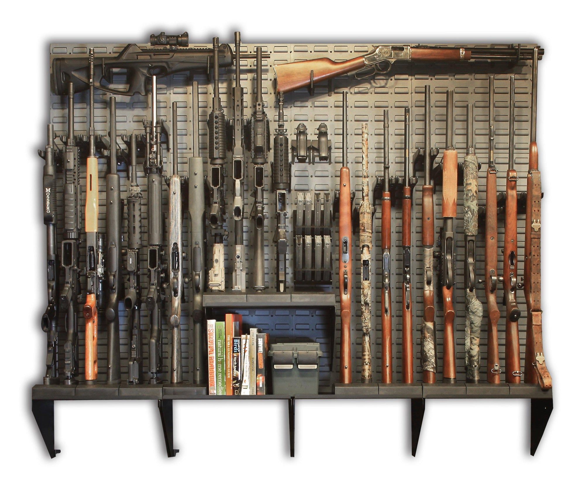 Gun Wall Armory Kits - SecureIt SEC-GW-K4 Gun Wall / Vault / Armory Kit # 4