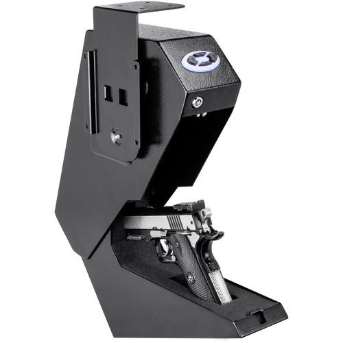 Handgun And Pistol Safes - Barska AX13094 Quick Access Handgun Desk Safe