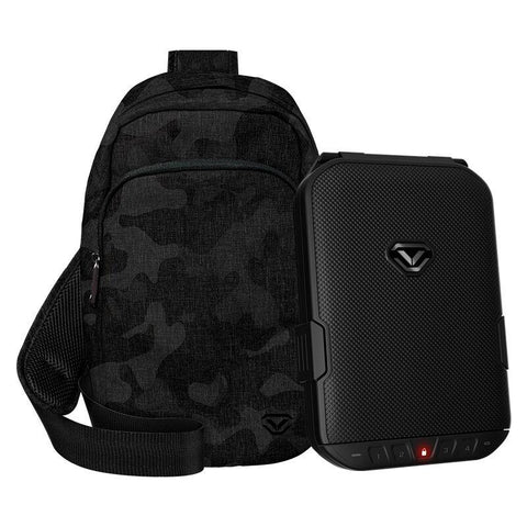 Handgun And Pistol Safes - Limited Edition - Vaultek LifePod Slingbag Combo Weather Resistant Safe With Built-in Lock