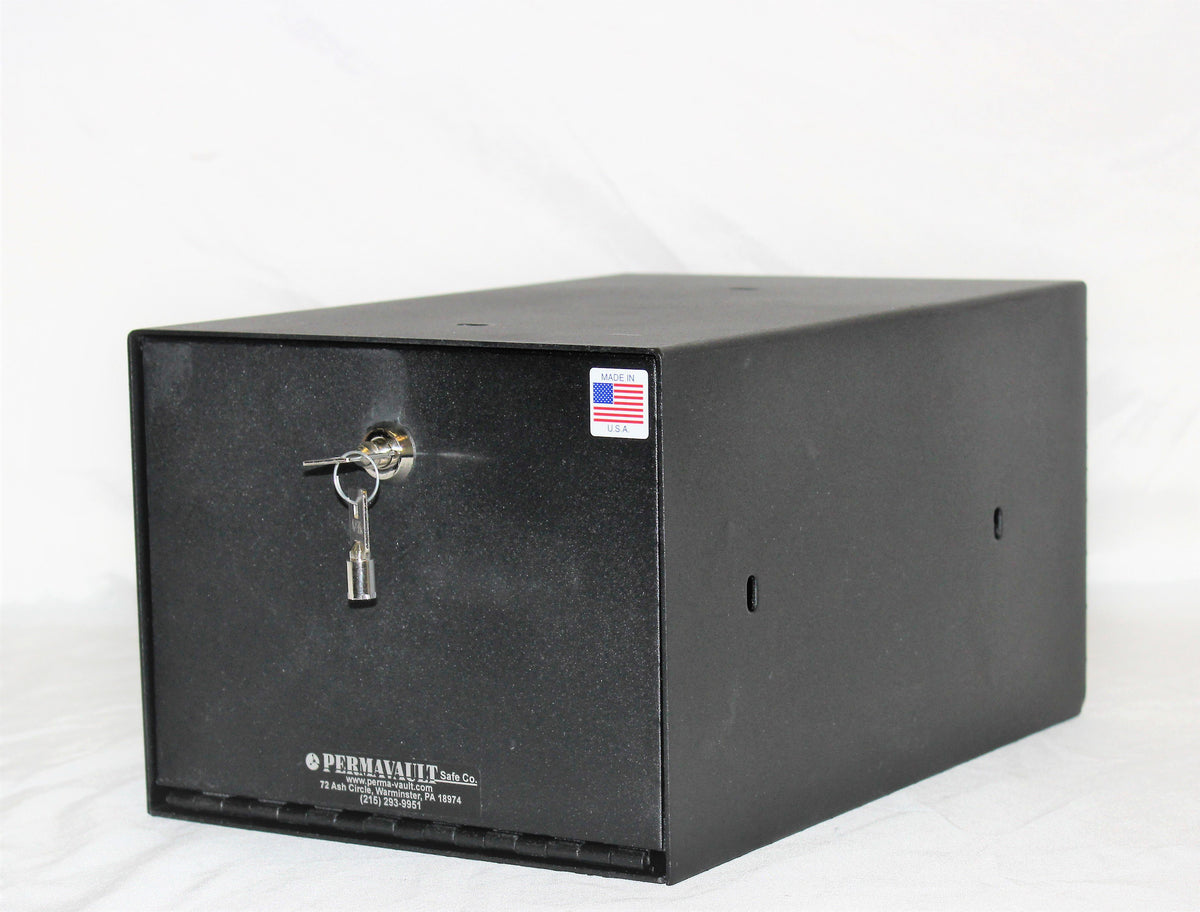Handgun And Pistol Safes - Perma-Vault PVB-5813 Large Capacity Pistol Box Security Cam Lock
