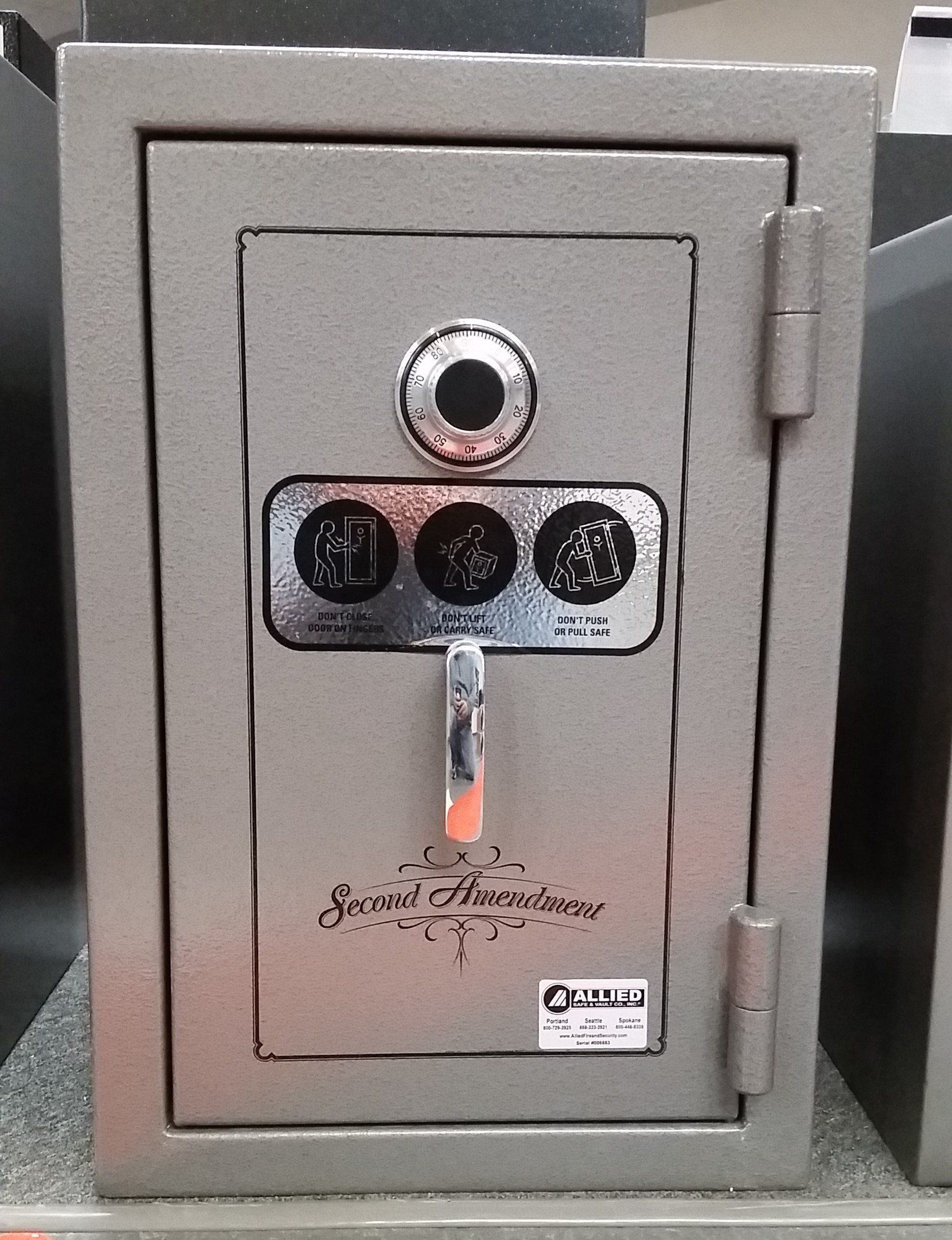 Handgun And Pistol Safes - SafeandVaultStore GS302020 Second Amendment Hand Gun Safe