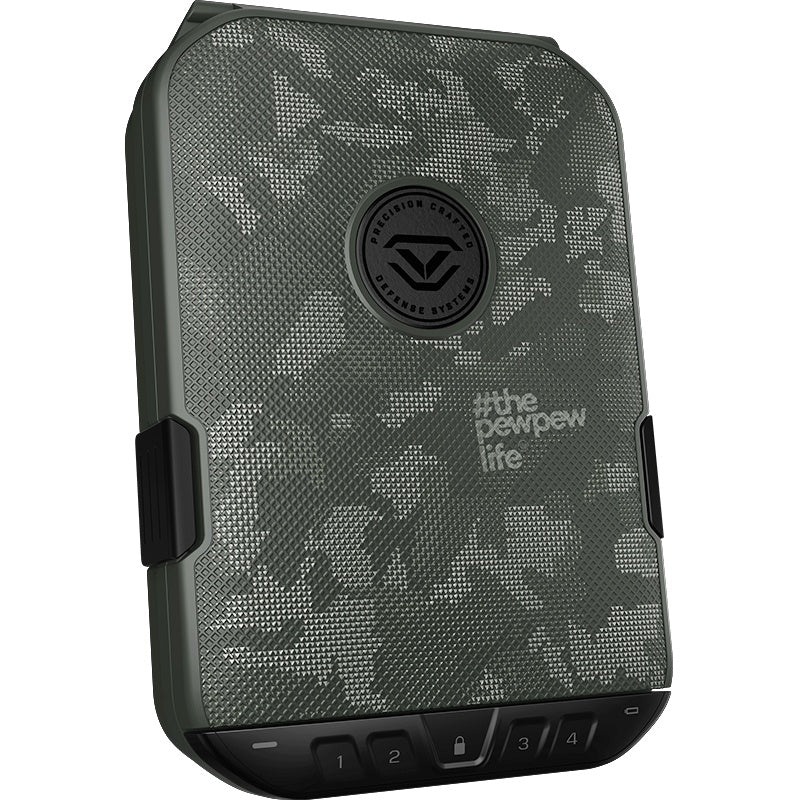 Handgun And Pistol Safes - Vaultek Colion Noir Lifepod 2.0 Rugged Airtight Water Resistant Safe With Built-in Lock