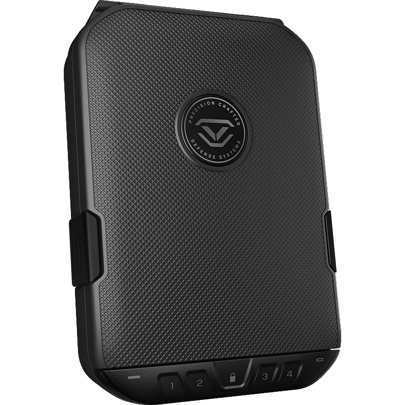 Handgun And Pistol Safes - Vaultek Lifepod 2.0 Full-Size Rugged Airtight Water Resistant Safe With Built-in Lock