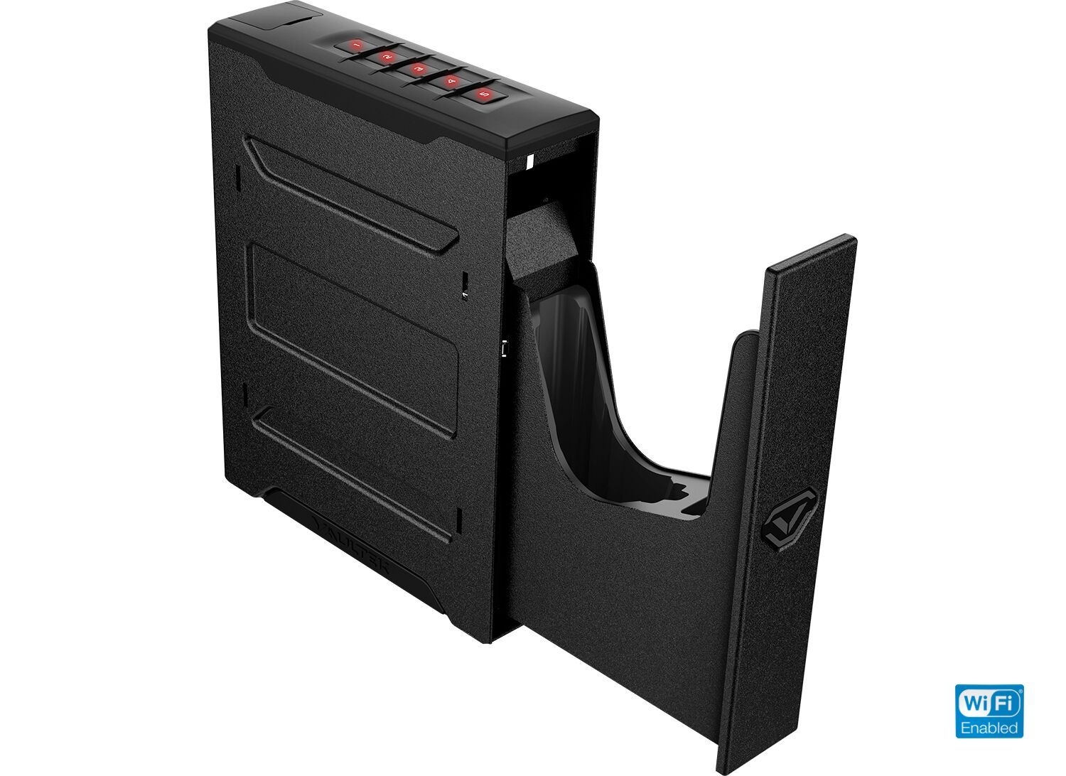 Handgun And Pistol Safes - Vaultek NSL20 WiFi Full-Size Rugged Slider Pistol Safe