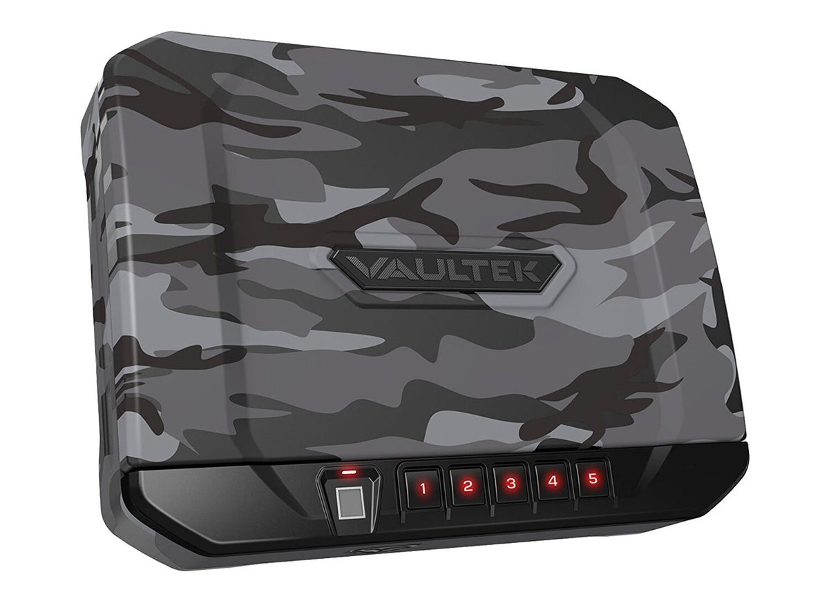 Handgun And Pistol Safes - Vaultek VT20i Rugged Biometric Bluetooth Smart Safe