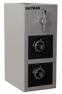 Hayman CV-H19-2-CC Double Door Rotary Depository Safe