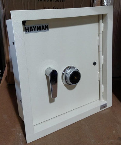 Hayman CV-WS-7-C Heavy Duty Wall Safe With Dial Combination Lock