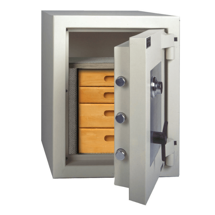 High Security Burglar Fire Safes - AMSEC CE2518 AMVAULT TL-15 Fire Rated Composite Safe