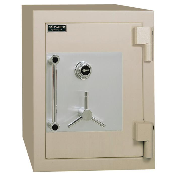 High Security Burglar Fire Safes - AMSEC CF2518 AMVAULT TL-30 Fire Rated Composite Safe