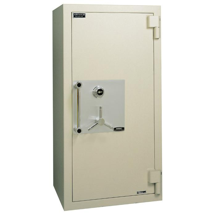 High Security Burglar Fire Safes - AMSEC CF6528 AMVAULT TL-30 Fire Rated Composite Safe