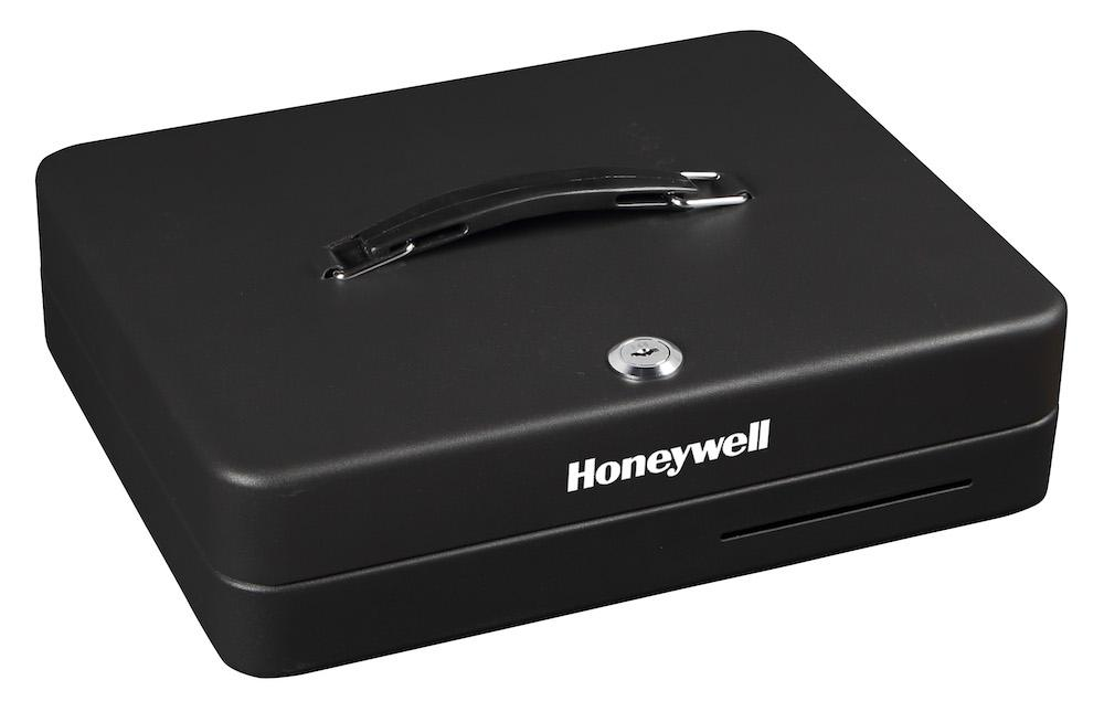 Honeywell 6113 Deluxe Steel Cash Box With Key Lock