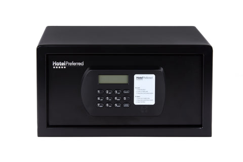 "Hotel Safes - Hotel Preferred HPSAF15BLK 15"" Laptop & Hotel Safe"