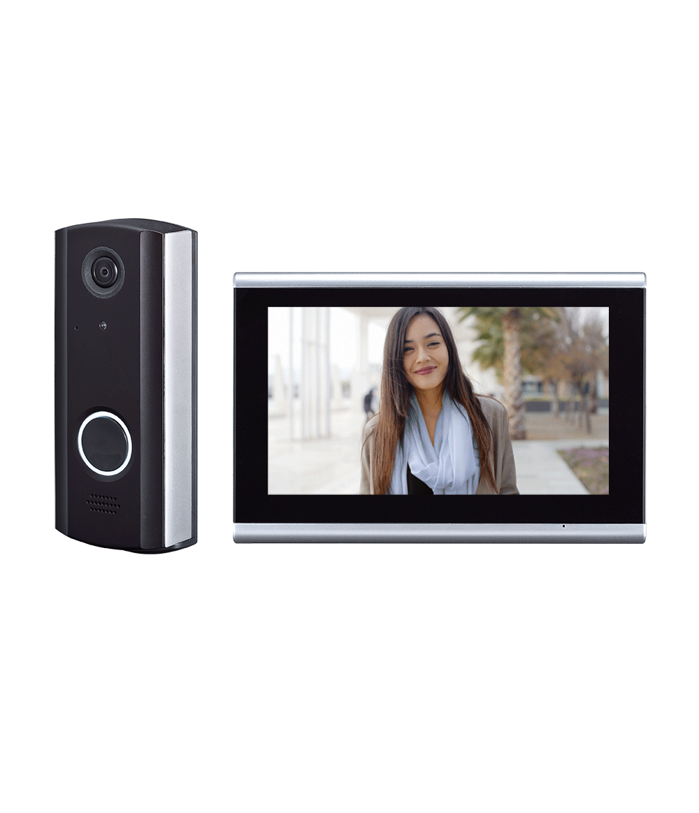 Intercom Systems - Optex IVision+ IVPC-DM Connect Wireless Video Intercom System
