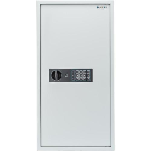 Key Cabinets - Barska AX13350 180 Keys Keypad Wall Key Cabinet White