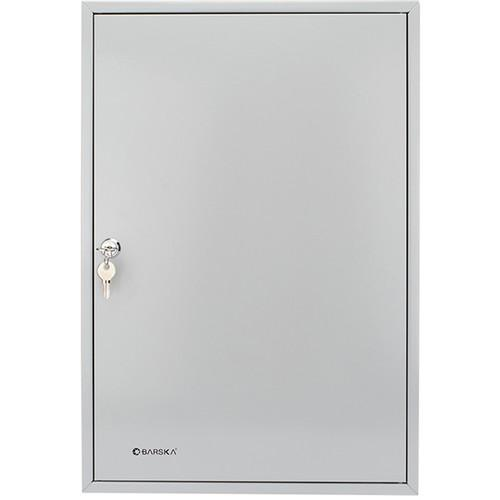 Key Cabinets - Barska CB12492 160 Key Cabinet With White Tags (Key Lock)