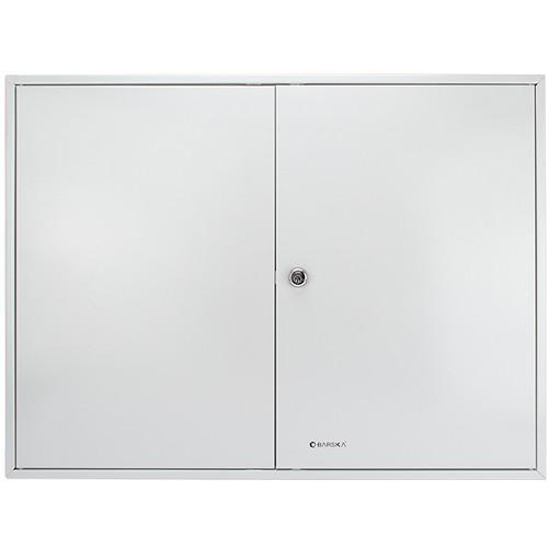 Key Cabinets - Barska CB12698 320 Position Key Cabinet Lock Box With White Tags - Gray