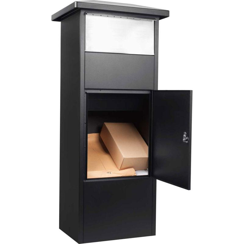 Mailboxes - Barska CB13324 Parcel Mailbox With Drop Door MPB-500