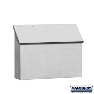 Mailboxes - Salsbury Stainless Steel Mailbox - Standard - Horizontal Style