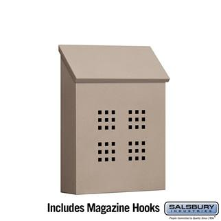 Mailboxes - Salsbury Traditional Mailbox - Decorative - Vertical Style