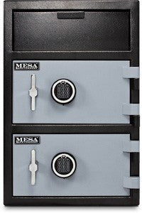 Mesa Mfl3020ee Double Door Depository Safe Safe And