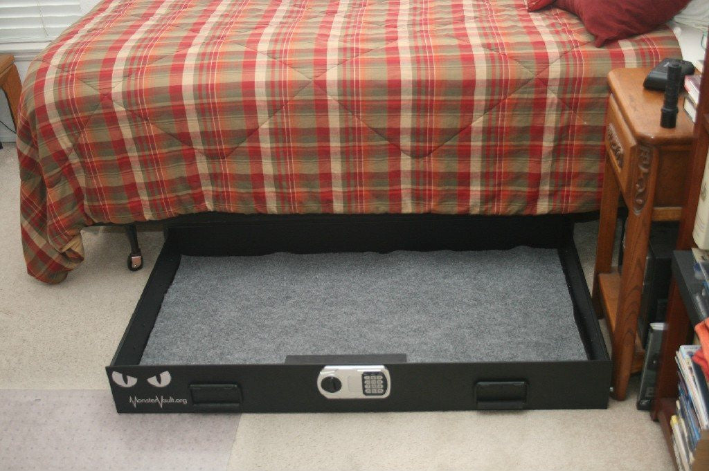 Monster Vault Under Bed Gun Safe