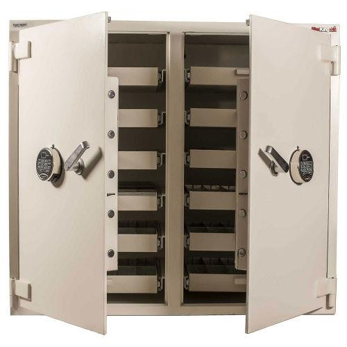 Pharmacy Safes - FireKing B3742WD-SR2 Double Door Narcotic Storage