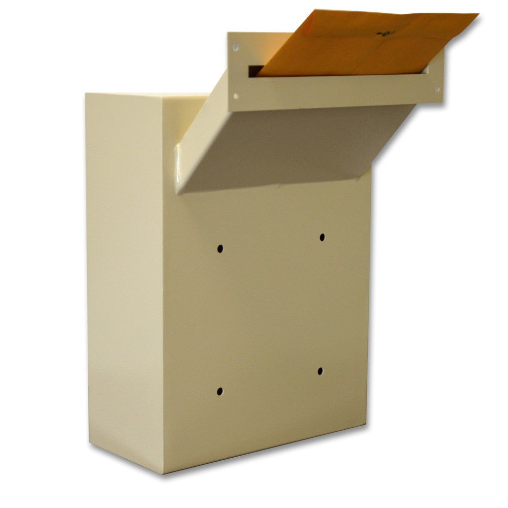 Protex MDL-170 Wall-Mount Letter Locking Drop Box with Chute