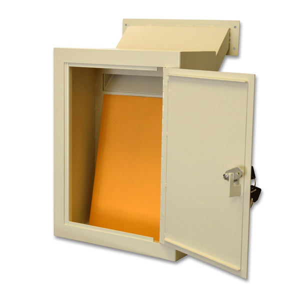 Protex Mdl 170 Wall Mount Letter Locking Drop Box With