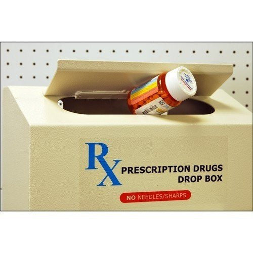 Protex RX-164 Prescription Drugs Drop Box