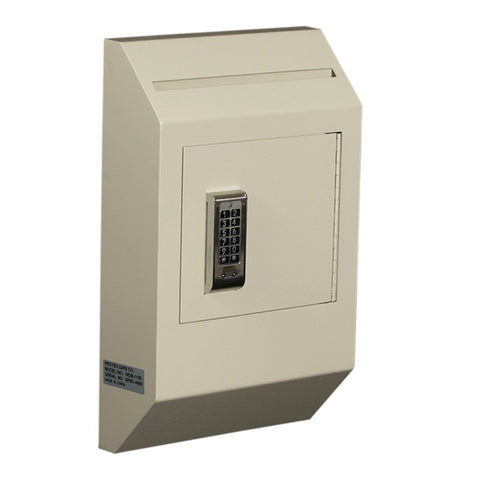 Protex WDB-110E II Letter Size Wall Drop Box with Electronic Lock