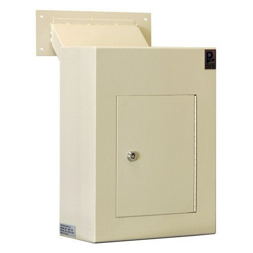 Protex WDC-160 Wall-Mount Locking Drop Box with Chute